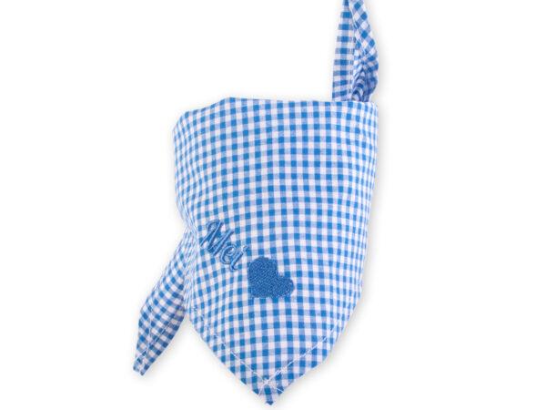 Paul der Bär - Mei Herzl Halstuch blau