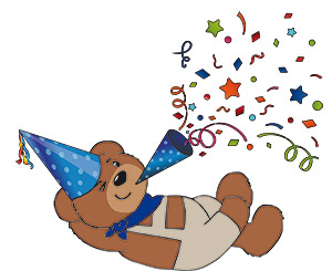 Paul der Bär feiert Geburtstag