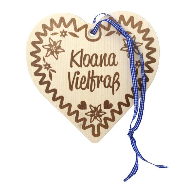 """Holzbrettl """"Kloana Vielfraß"""""""